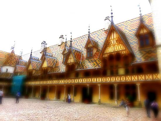 Les hospices de beaune for Tuile cote de beaune